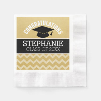 Congratulations Graduate - Personalized Graduation Paper Serviettes