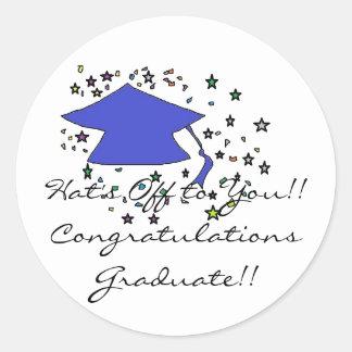Congratulations Graduate stickers