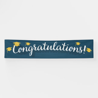 Congratulations Indoor & Outdoor Banners | Zazzle.co.uk