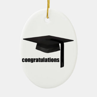Congratulations Graduation Cap Christmas Ornament
