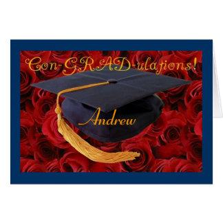 Congratulations-Graduation-personalise name! Card
