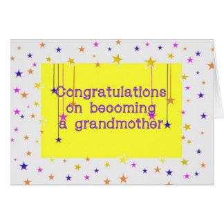 Congratulations Grandmother Gender Neutral Card