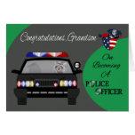 Congratulations, Grandson, Police Officer