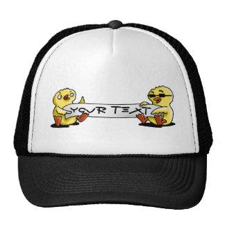 congratulations happy birthday chicken trucker hat