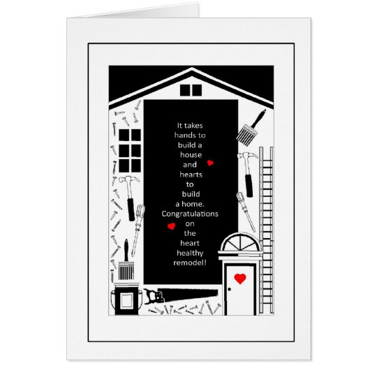 Congratulations - Home Renovation Remodel Card