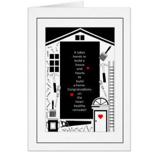 Congratulations - Home Renovation Remodel Greeting Card