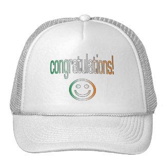 Congratulations! Ireland Flag Colors Hats
