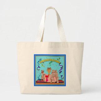 """Congratulations"" Jumbo Tote Bag"