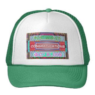 CONGRATULATIONS  -  Many ways to say it Trucker Hat