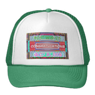CONGRATULATIONS - Many ways to say it Mesh Hat
