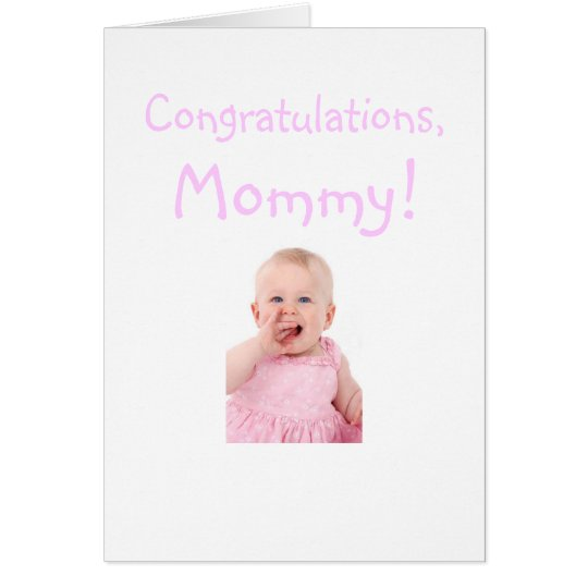 Congratulations Mum From New Baby Card