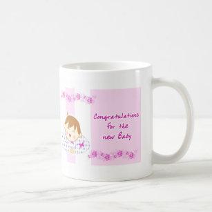 congratulations new baby coffee mug