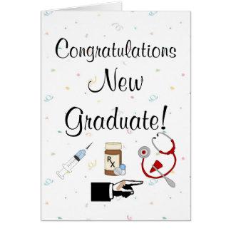 Congratulations New Graduate-Nurse Humor Card