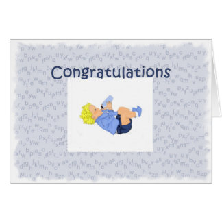 Congratulations New Grandmother Greeting Card
