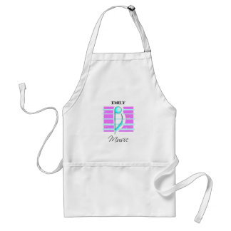 Congratulations Note, Musical Performance Standard Apron