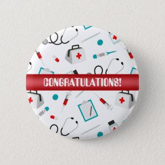 Congratulations Nurse equipment party button