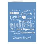 Congratulations Nurse Retirement!