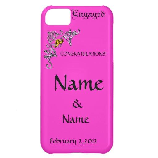 Congratulations of Engagement iPhone 5C Cases
