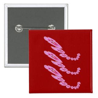 Congratulations:  Offering Garlands 15 Cm Square Badge