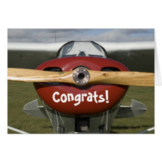 Congratulations on Earning your Pilot s License Cards