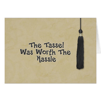 Congratulations on Graduation - Tassel Card