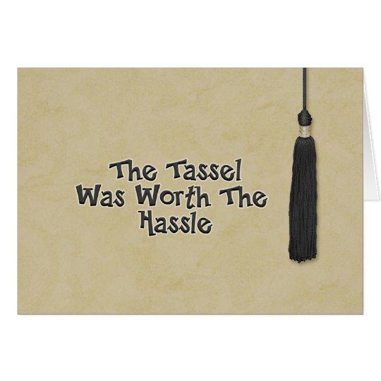 Congratulations on Graduation - Tassel Card