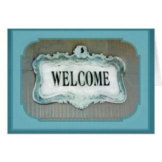 Congratulations on new home Welcome Home Card