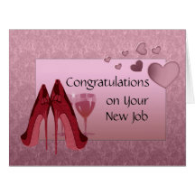 Congratulations on New Job Greeting Card
