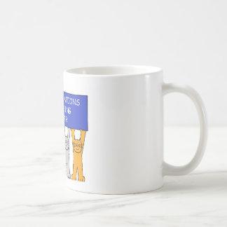 Congratulations on passing the bar exam. coffee mug