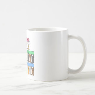 Congratulations on passing your driving test. coffee mug
