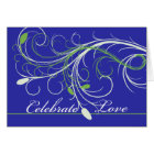 Congratulations on Renewal of Vows, Elegant Design Card