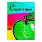 Congratulations on Teacher Retirement, Green Apple Card
