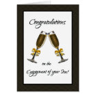 Congratulations on the Engagement of Your Son! Card