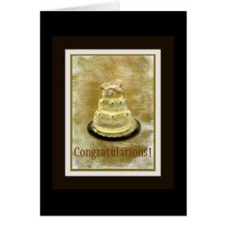 Congratulations On Wedding Card