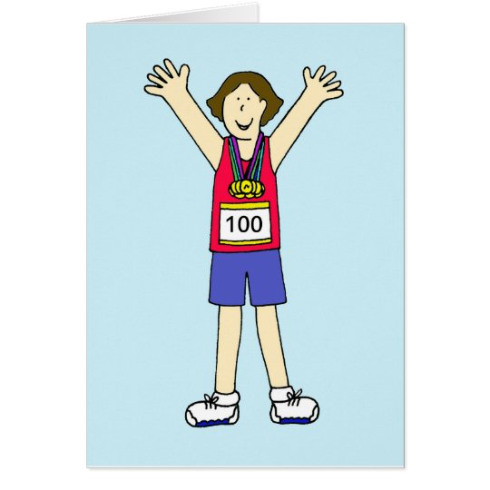 Congratulations on your 100th marathon for a lady.