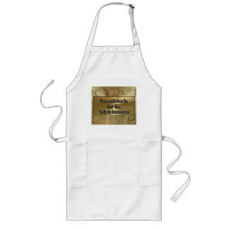 Congratulations On Your 50th Wedding Anniversary Long Apron