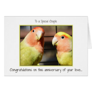 Congratulations on Your Anniversary Card