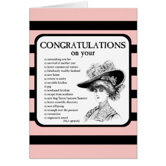 Congratulations on Your... Greeting Card