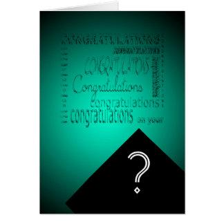 Congratulations on Your Graduation #2 Customizable Greeting Card