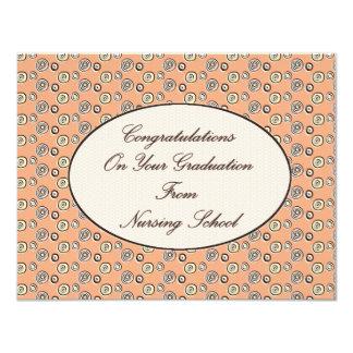 Congratulations on your Graduation From Nursing Sc 4.25x5.5 Paper Invitation Card