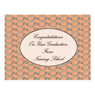 Congratulations on your Graduation From Nursing Sc Postcard