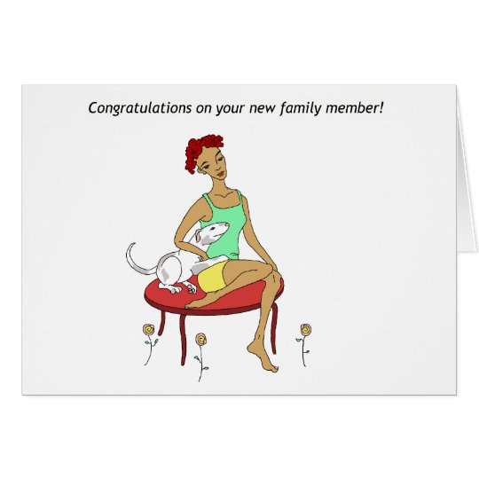 Congratulations on your new Dog Card