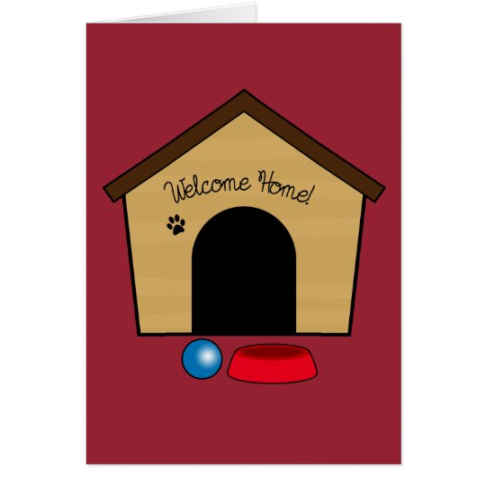 Congratulations on Your New Puppy with Dog House