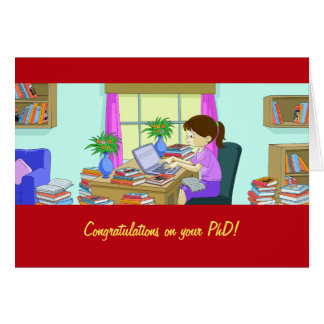 Congratulations on Your PhD Card
