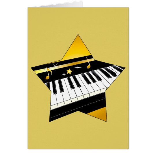 Congratulations on Your Piano Performance Card