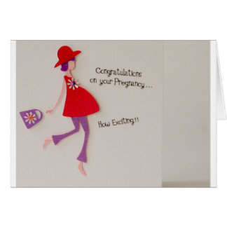 congratulations on your pregnancy! greeting card