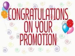 Congratulations on promotion militaryalicious congratulations on promotion m4hsunfo