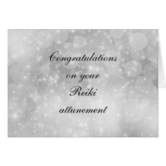 Congratulations on your Reiki attunement Card