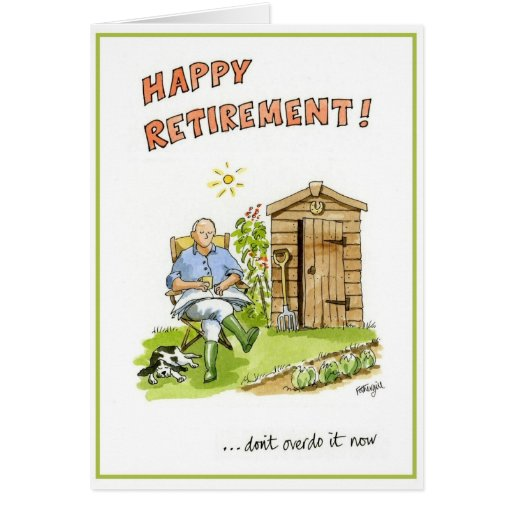 Congratulations on your retirement greeting card