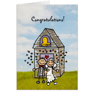 Congratulations or MANY Wedding uses Greeting Card